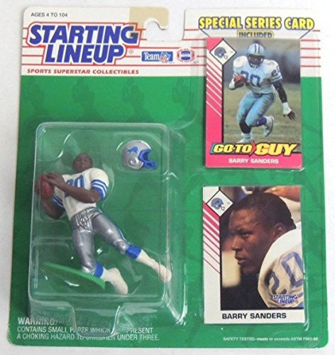 1993 NFL Starting Lineup - Barry Sanders - Detroit Lions