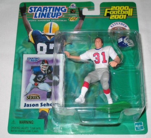 2000 Jason Sehorn Extended Series NFL Starting Lineup New York Giants