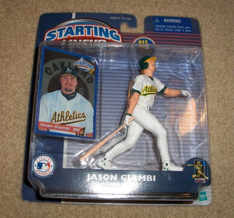 2001 Jason Giambi MLB Starting Lineup 2