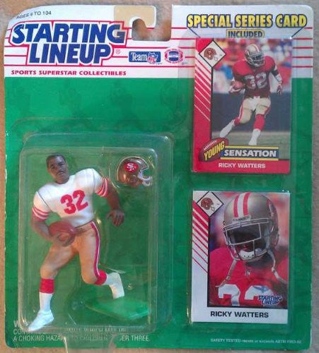 Ricky Watters 1993 Starting Lineup
