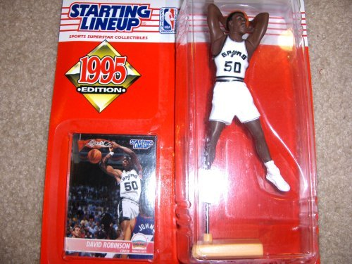 1995 David Robinson NBA Starting Lineup San Antonio Spurs