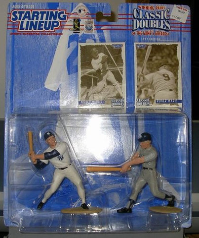 1997 Mickey Mantle & Roger Maris MLB Starting Lineup Classic Doubles New York Yankees