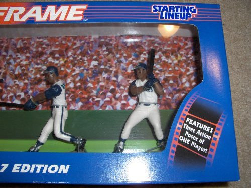 Ken Griffey Freeze Frame 1997 Seattle Mariners Starting Lineup MLB