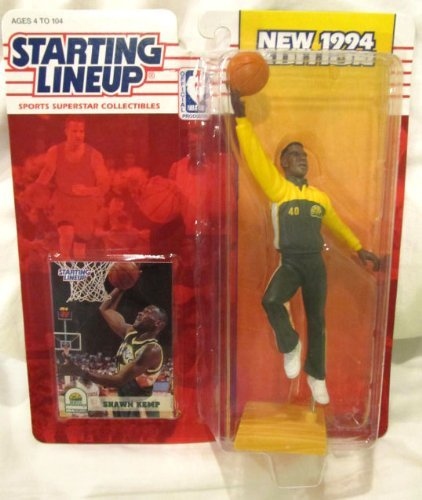 Starting Lineup Sports Superstar Collectibles 1994 Shawn Kemp Seattle Supersonics
