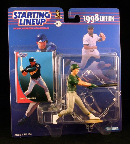 Jose Canseco 1998 Edition Starting Lineup MLB Baseball Sports Superstar Collectible Action Figure Oakland Athletics
