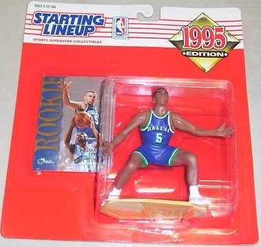Jason Kidd Rookie Action Figure - 1995 Edition Starting Lineup NBA Basketball Series Dallas Mavericks
