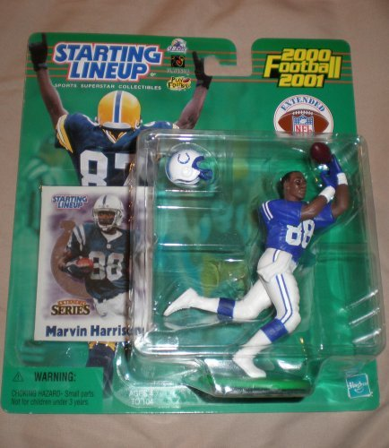 2000 Marvin Harrison Starting Lineup Extended Series Indianapolis Colts