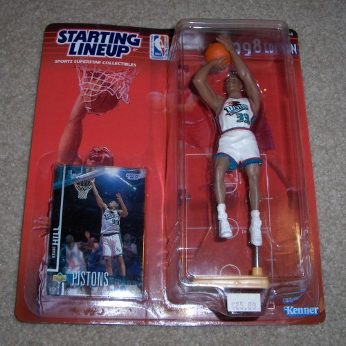 1998 NBA Starting Lineup - Grant Hill - Detroit Pistons
