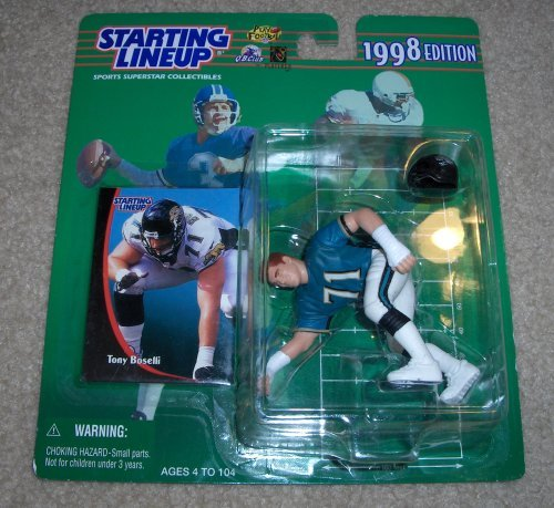 1998 Tony Boselli NFL Starting Lineup Figure by Starting Line Up