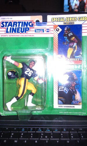 1993 Rod Woodson NFL Starting Lineup Pittsburgh Steelers
