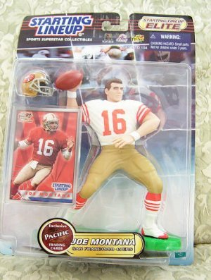 "2000 NFL Starting Lineup Elite 6.5"" Figure - Joe Montana - San Francisco 49ers"