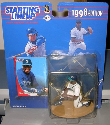 1998 Ken Griffey Jr Starting Lineup Figure Seattle Mariners