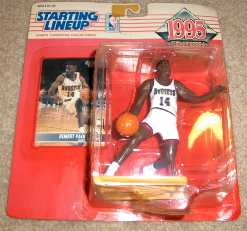 1995 Robert Pack NBA Basketball Starting Lineup