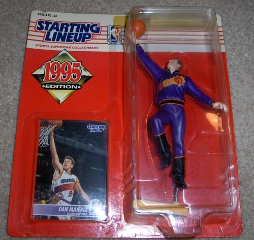 1995 Dan Majerle NBA Basketball Starting Lineup Phoenix Suns