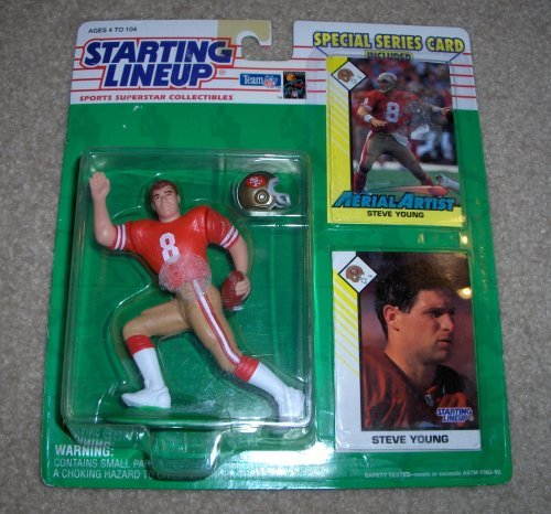 1993 Steve Young NFL Starting Lineup Figure San Francisco 49ers