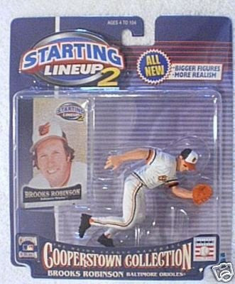 Starting Lineup2 Cooperstown Collection Brooks Robinson