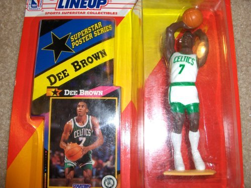 1992 Dee Brown NBA Starting Lineup Figure Boston Celtics