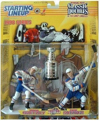Starting Lineup Classic Doubles 1998 Series Wayne Gretzky Mark Messier