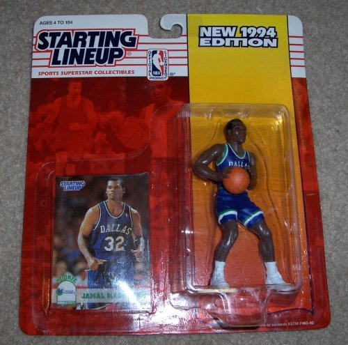1994 Jamal Mashburn NBA Starting Lineup Figure Dallas Mavericks