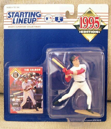 1995 Tim Salmon MLB Starting Lineup Los Angeles Angels