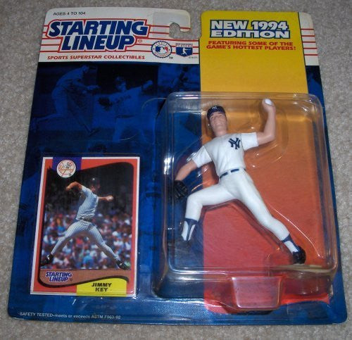 1994 Jimmy Key MLB Starting Lineup New York Yankees