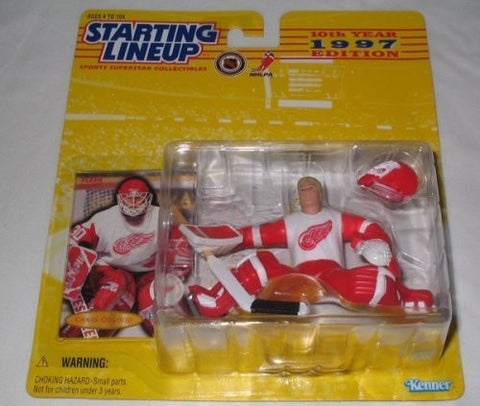 1997 Chris Osgood NHL Starting Lineup Detroit Red Wings