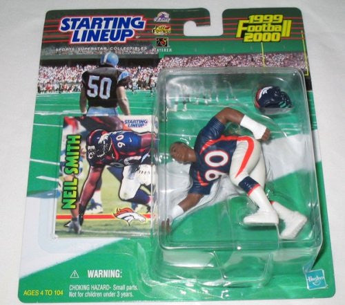 1999 Neil Smith NFL Starting Lineup Denver Broncos
