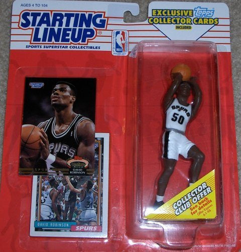 David Robinson 1993 Starting Lineup San Antonio Spurs