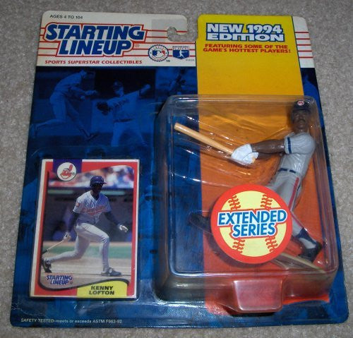 1994 Kenny Lofton MLB Extended Series Starting Lineup Cleveland Indians