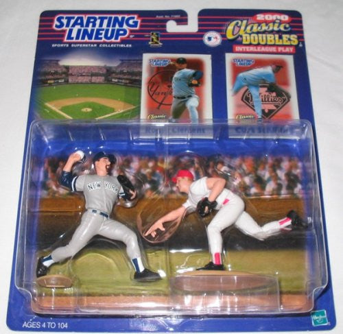 2000 Roger Clemens / Curt Schilling Classic Doubles MLB Starting Lineup