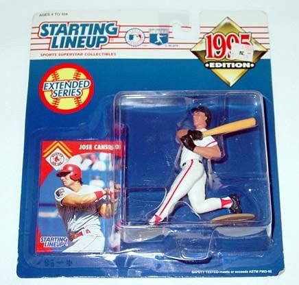 Jose Canseco Starting Lineup 1995 Boston Red Sox Extended Series