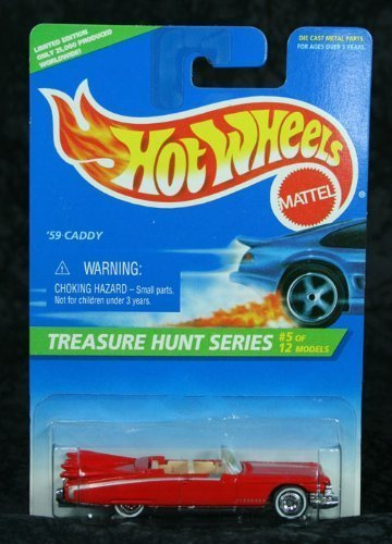 Hot Wheels 1996 Collector #432 '59 Caddy Treasure Hunt 5 1/64