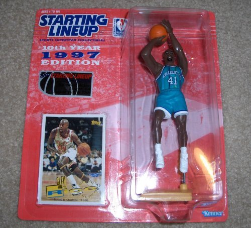 1997 Glen Rice Charlotte Hornets Starting Lineup Convention