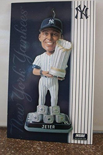 Derek Jeter Holiday Ornament Bobble Head 2014 Only 360 were made each numbered New York Yankees Farewell