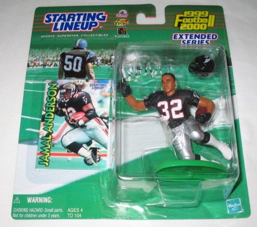 1999 Jamal Anderson Extended Series NFL Starting Lineup Atlanta Falcons
