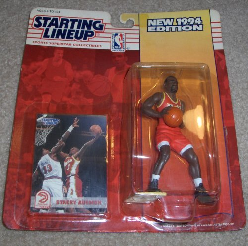 1994 Stacey Augmon NBA Starting Lineup Figure Atlanta Hawks