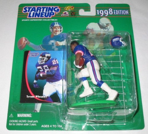 1998 Tyrone Wheatley NFL Starting Lineup
