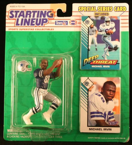 Michael Irvin Starting Lineup 1993 Dallas Cowboys Starting Lineup