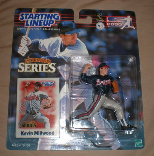 2000 Kevin Millwood Starting Lineup Extended Series Atlanta Braves
