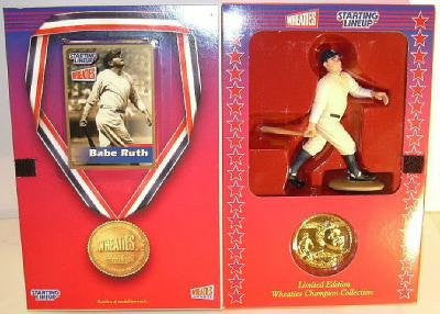 2000 MLB Wheaties Starting Lineup - Babe Ruth