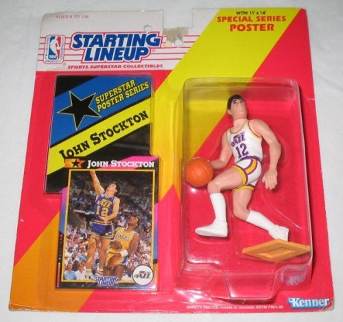 1992 John Stockton NBA Starting Lineup