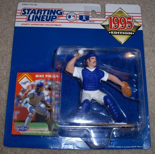 1995 Mike Piazza MLB Starting Lineup Figure Los Angeles Dodgers