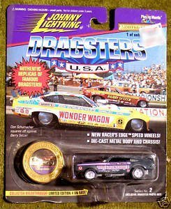 Johnny Lightning Dragsters USA Trojan Horse Series 2 1:64