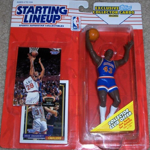 Brad Daugherty 1993 Starting Lineup Cleveland Cavaliers