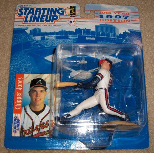 1997 Chipper Jones MLB Starting Lineup Figure Atlanta Braves