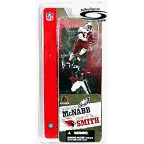 "Mcfarlane 3"" NFL 2-packs Donovan Mcnabb and Emmitt Smith"