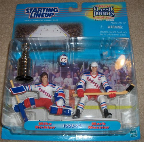 1999 Mike Richter and Mark Messier NHL Classic Doubles Winning Pairs Starting Lieup