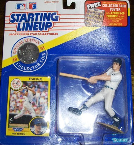 Kevin Maas 1991 Starting Lineup New York Yankees
