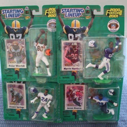 2000 Peter Warrick Marvin Harrison Jevon Kearse Shawn Springs All Four Starting Lineup