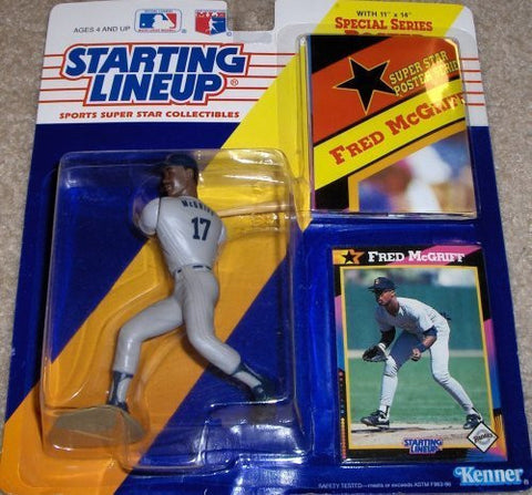 Fred Mcgriff 1992 Starting Lineup San Diego Padres
